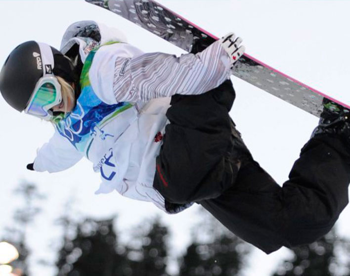Snowboarder, Mercedes Nicoll raises mental health awareness and funds with Jack.org