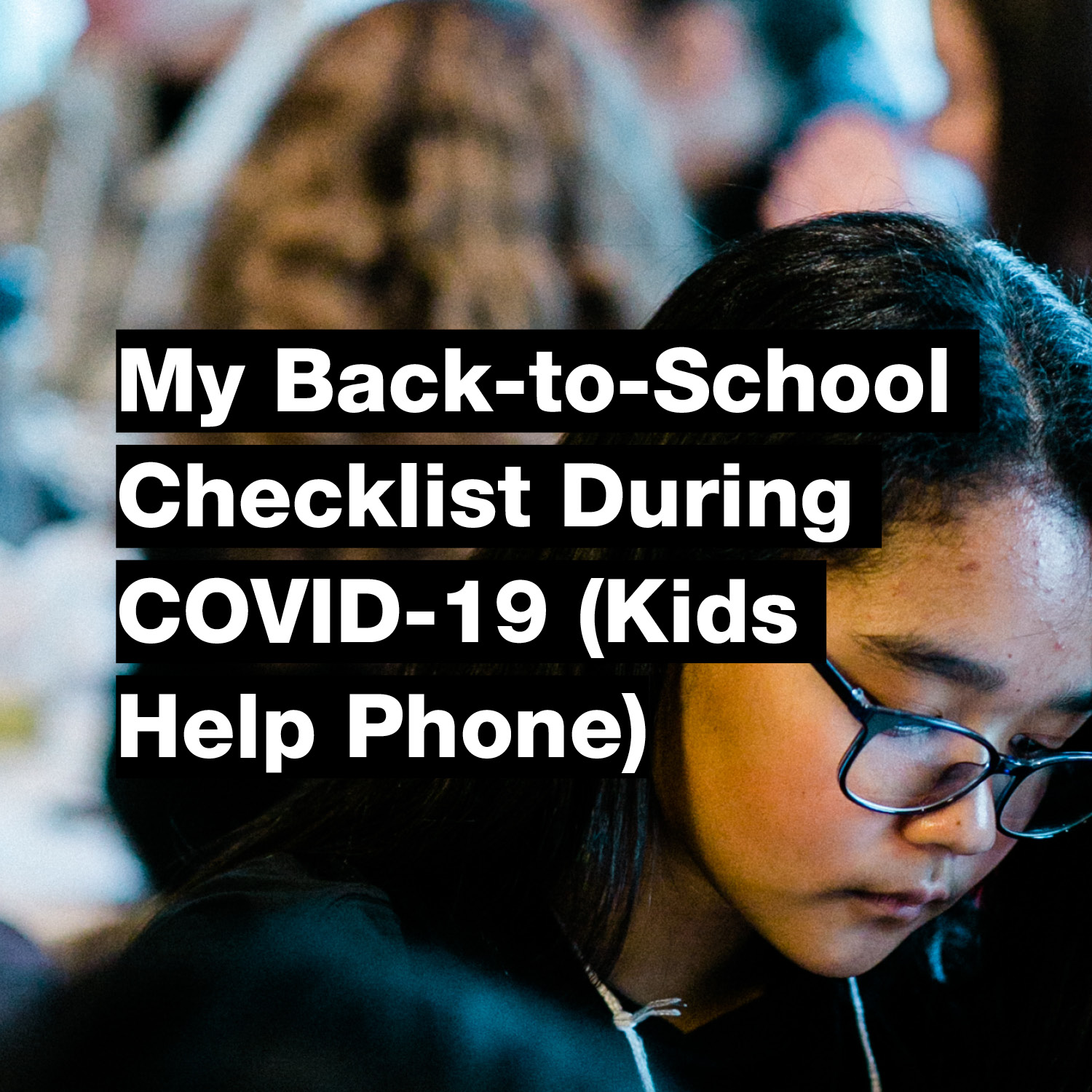 My Back-to-School Checklist During COVID-19